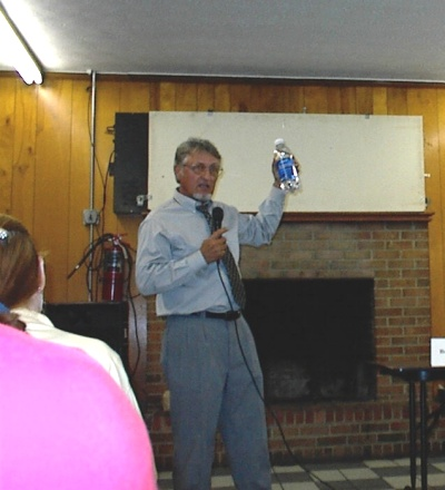 Jason speaking in Asheville in 2003 - Click to Zoom In
